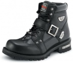 Milwaukee Motorcycle Clothing Company Mens Road Captain Motorcycle Boots