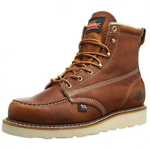 Thorogood Mens American Heritage 6 inch Moc Toe, MAXwear Wedge Non-Safety Toe Boot
