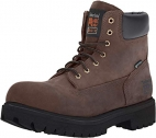 Timberland PRO Mens Direct Attach 6 Inch Steel Safety Toe Insulated Waterproof Industrial Work Boot